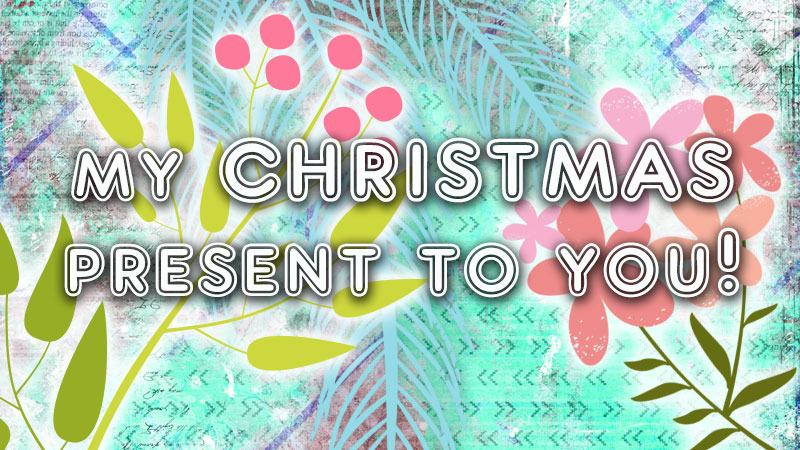 My Christmas present to you: 20% off all my books, workshops & e-course!