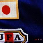 2011年3月、台北で何度も見かけた日本代表のユニフォーム