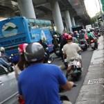 交通事故現場で、台湾人の行動を真似してみる