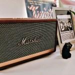 Marshall Acton II|Bluetoothスピーカーを台湾のデザイン系通販サイトで取り寄せ