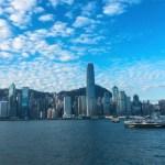 香港スターフェリー(少し)値上げ。21年2月からの料金表、朝と夜の写真。