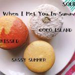 「Souri」の夏マカロンがタイ・バンコクから香港経由で台北に届いたので急いで食べる。