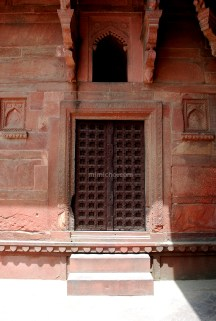 Doors of Agra Fort