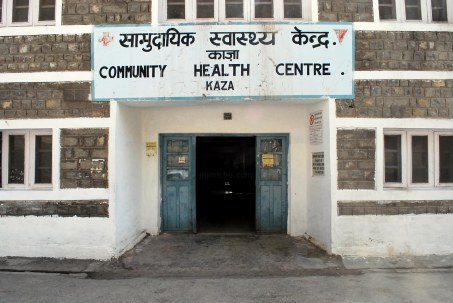 Kaza hospital - Spiti valley, Northern India