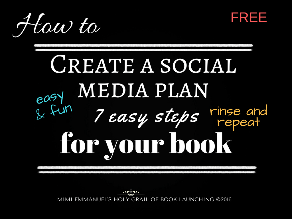 Easy and  Fun Social Media Plan