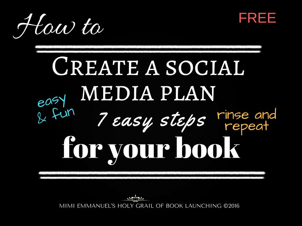 Easy and  Fun Social Media Plan