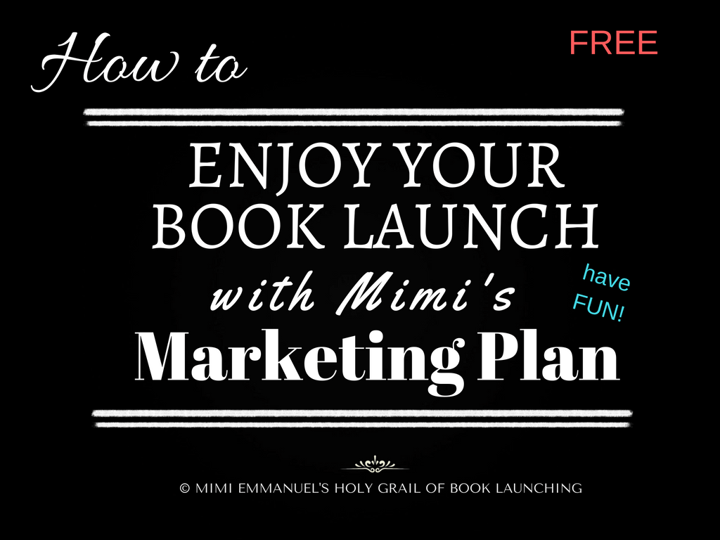 Mimi's Book Marketing Plan