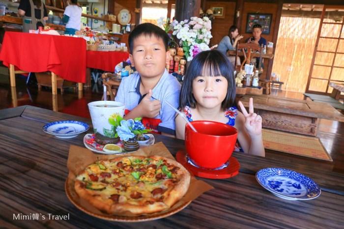 【沖繩必吃美食】花人逢(map code):沖繩老宅景觀餐廳,美味手工PIZZA大推薦,享受奢侈的無敵海景