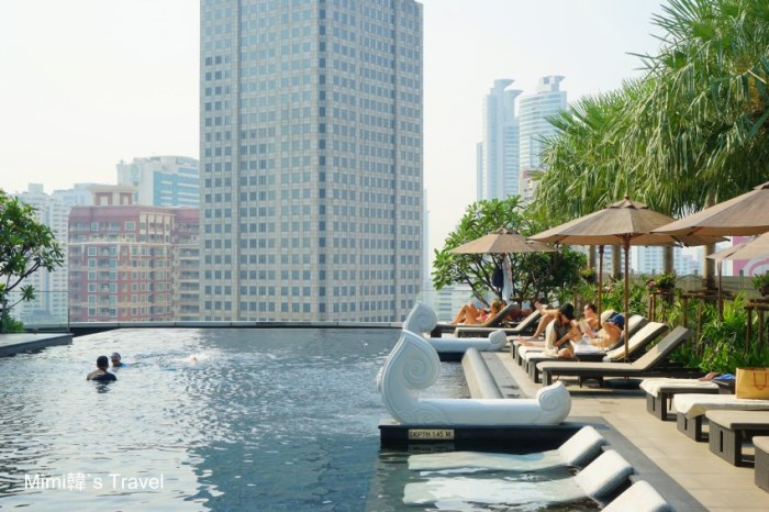 【曼谷Asoke住宿】Grande Centre Point Hotel Terminal 21:兩大捷運交會,無邊際泳池超享受,高貴不貴。