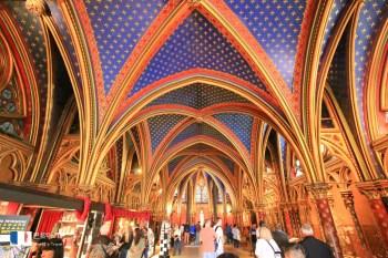 【巴黎】聖徒禮拜堂&巴黎古監獄:門票交通整理,別再找不到入口,必看最美彩繪花窗