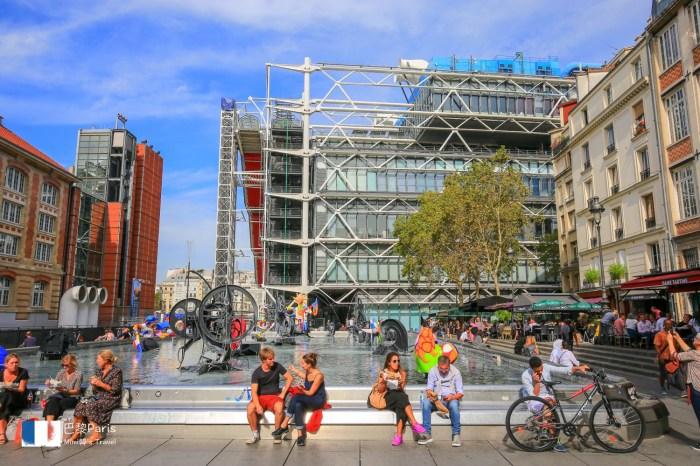 【巴黎景點】龐畢度中心:巴黎現代藝術重鎮,周邊景點、交通&門票資訊分享