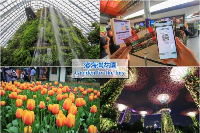 【新加坡濱海灣花園】超級樹燈光秀、雲霧林&花穹重點攻略!門票、建議時間路線安排