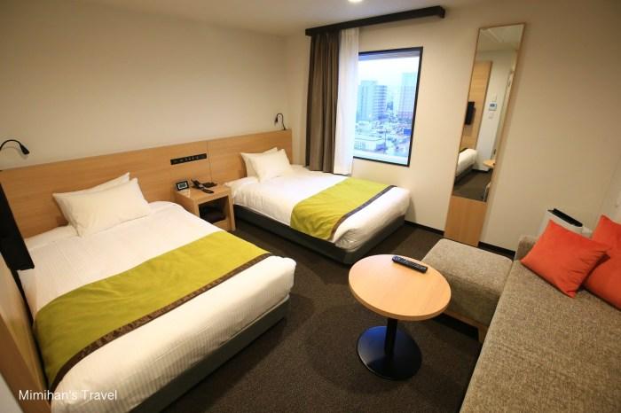 【旭川Y`s Hotel】旭川Y飯店:JR旭川站走路一分鐘,對面是大型AEON百貨超好逛!