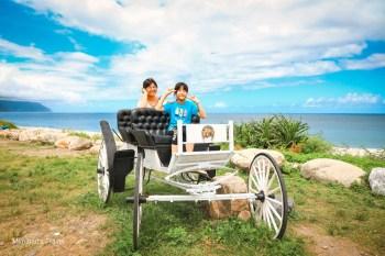 花蓮景點|崇德瑩農場:免費入園無敵海景超美拍!可愛動物牧場/餐飲/露營車玩樂趣