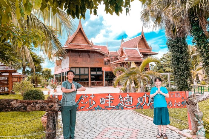 屏東景點|泰國高腳屋:真的沒出國!濃濃異國風高腳屋泰式料理餐廳,秒飛泰國玩拍趣