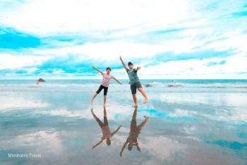 台東景點|都蘭海灘天空之鏡:台東成功ig網美打卡景點&衝浪勝地,交通/抵達時間建議