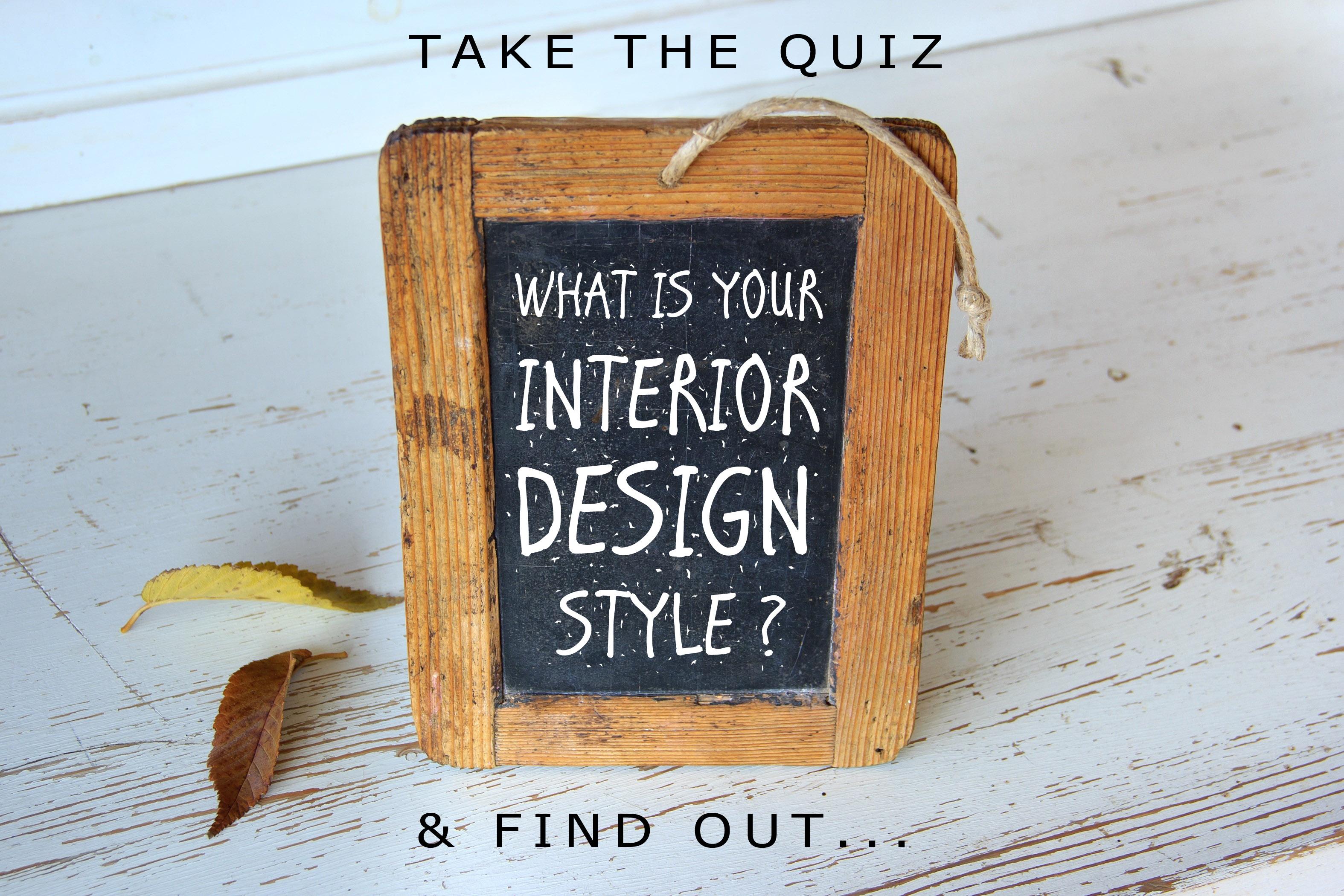 Interior Decorating Style Quizzes