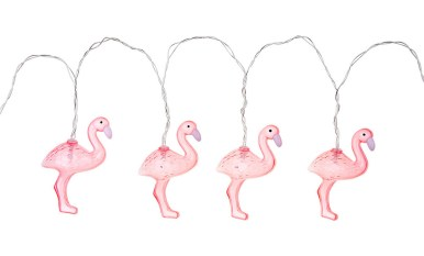 Think pink - flamingo lights