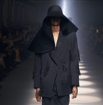 Did February's Runway Foretell the Pandemic?