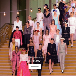 Chanel's Quiet Couture Presentaion