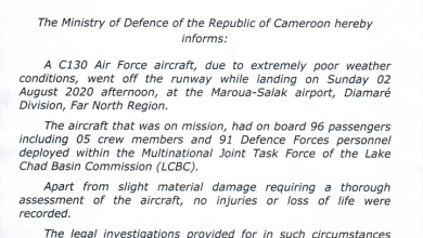 Photo of Defence Ministry analyses damage done by terrorist attack and military aircraft accident in Far North