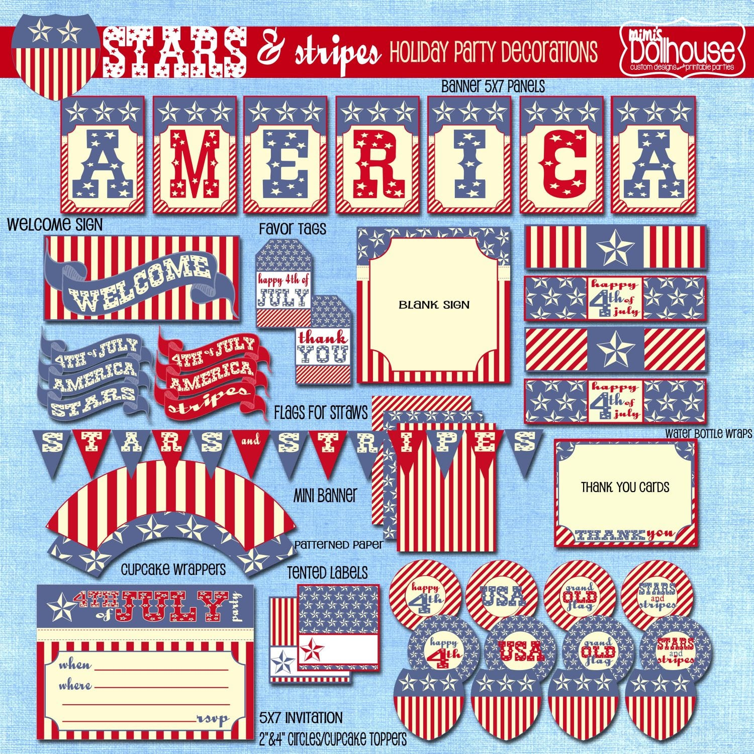 Fourth Of July Free Fourth Of July Printables