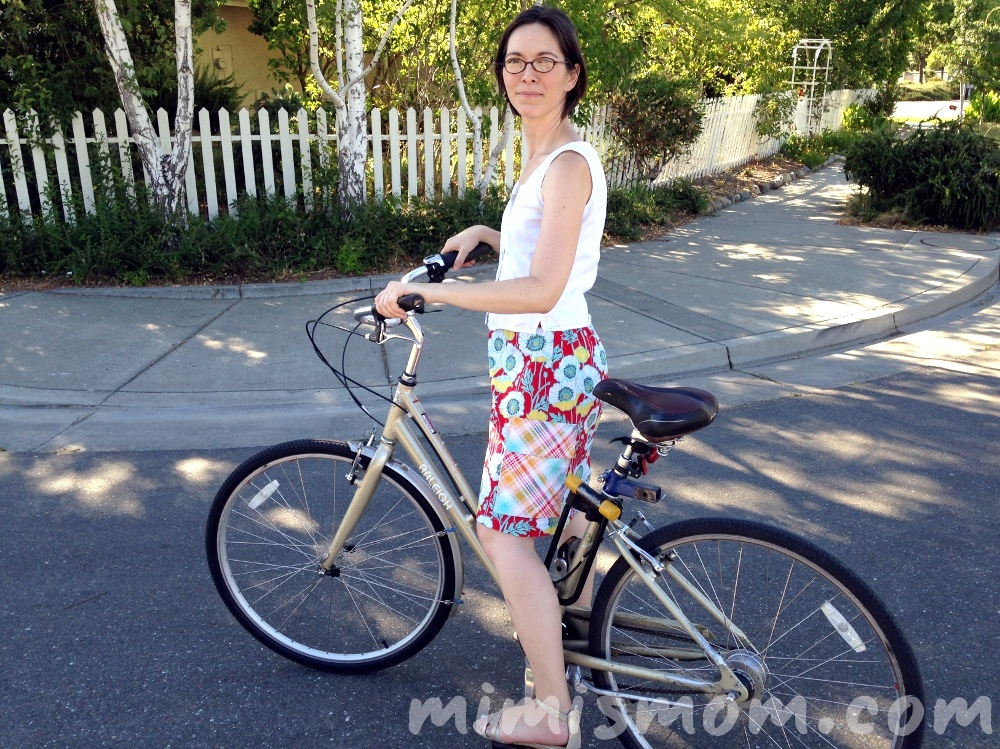 Riding on Bikes with Skirts - A Summer of No Pants Guest Post (6/6)