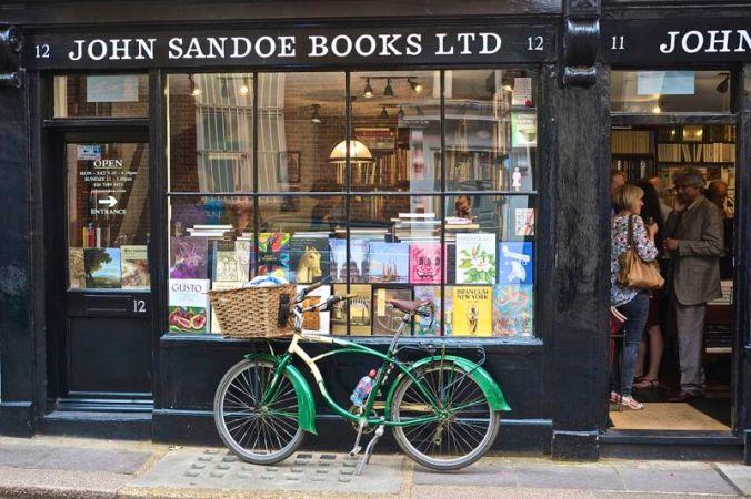Sandoe green bicycle
