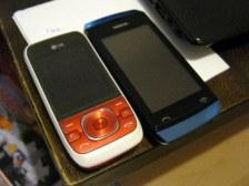 Moje dva mobily :D