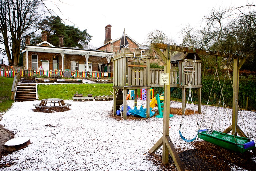 Playschool in the snow
