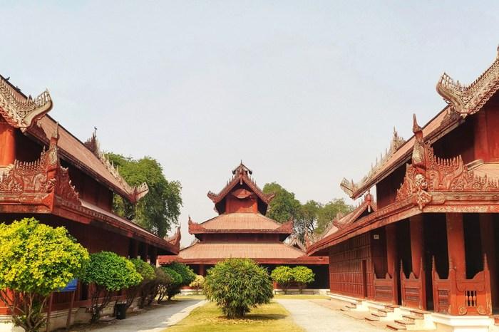 【緬甸自由行】三城一湖追光逐影之旅07 • 曼德勒皇宮(Mandalay Palace)