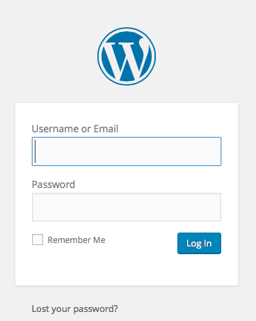 log-into-wordpress