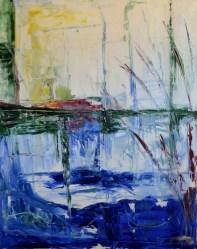 Tranquil movement, 60x90cm Oil on canvas, SEK 15 000,00