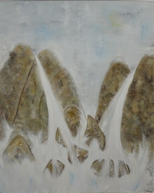 High waters, 80x100cm Oil on canvas, SEK 17 000,00