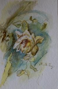 40x30cm Watercolor on paper in A3 cardboard passepartout, SEK 5000,00