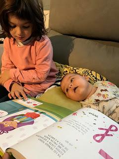 Compartiendo un ratito de lectura