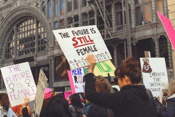manifestación feminista - foto CC0 Pixabay