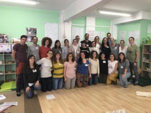 Fotos del curso eduquemos en positivo en la Girandola