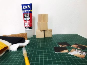 Materiales para el puzzle bloques sensoriales