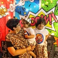 Fiesta de cumpleaños de la baby con decoración DIY