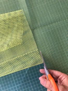 Cortando la mesh