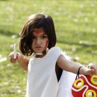 La princesa Mononoke disfraces DIY para carnaval
