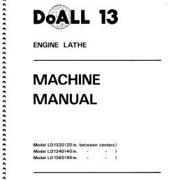 doall 13 lathe wiring schematic [ 1244 x 1756 Pixel ]