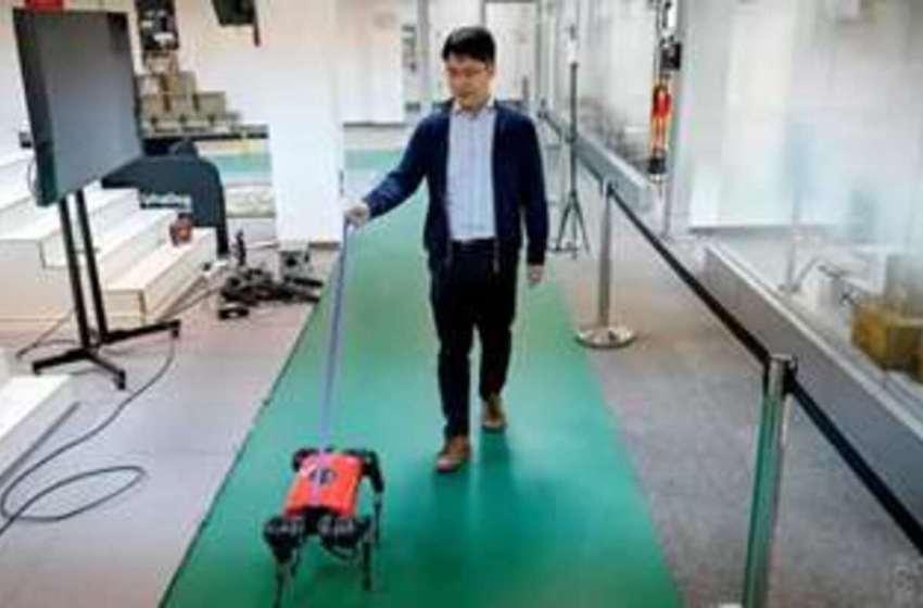 """China crea el perro robot """"AlphaDog"""" que es más veloz que uno de carne y hueso, además puede ver y oír"""
