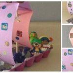Cómo hacer un barco pirata: manualidad para niños