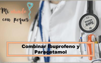 Alternar ibuprofeno y paracetamol
