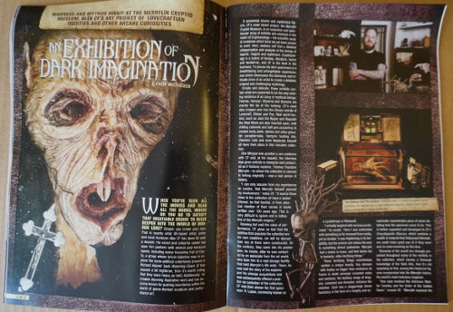 Horror Block article's magazine
