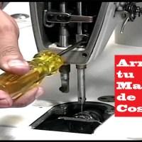 Aprende cómo Hacer el Mantenimiento de tu Máquina Recta!