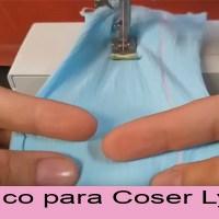 TRUCO para coser licra y no salte la puntada