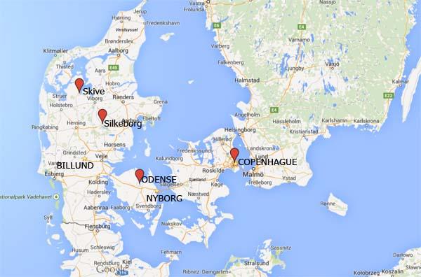 Itinerario Dinamarca 2011  Mi Mundo Viajero